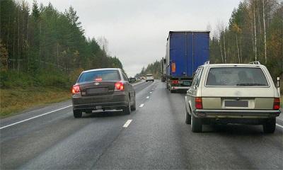Что делать, если Вы нарушили правила обгона Транспортного Средства